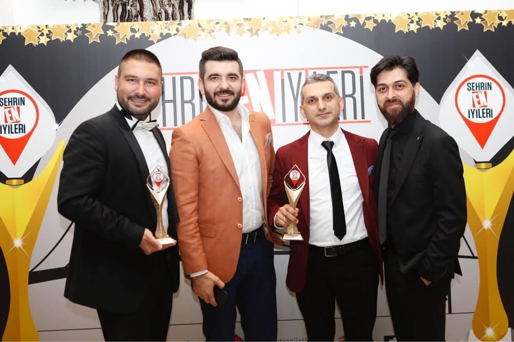 emphair şehrin en iyileri - en iyi saç ekim merkezi ödülü